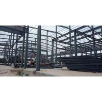 Z Section Steel Structure Warehouse Quick Easy To Build With Door / Window Manufactures