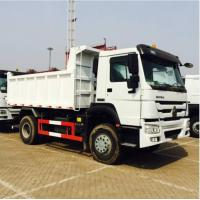 China 290HP Sinotruk Howo 4x2 10 Ton Small Tipper Truck With Powerful Steering Gear Box on sale