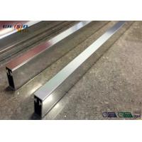Sliver Mirror Polished Aluminium Profile For Bacony Rail Polished Aluminum Extrusion Profiles Manufactures