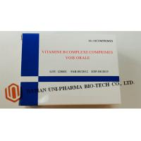 China Vitamine B Complexe Comprimes Medicine Tablet For Adults Water Soluble Function on sale