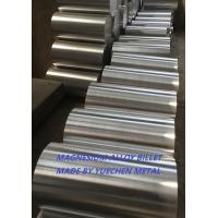 Forged Az80 Magnesium Alloy Rod Billet Bar with max. diameter 600mm Lightest Structural Metal Manufactures