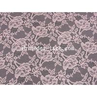 Mesh Flower Stretch Lace Fabric Nylon Spandex Materail Fashion Design SYD-0178 Manufactures