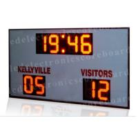 High Brightness LED Football Scoreboard For Outside CE / RoHS Approved Manufactures