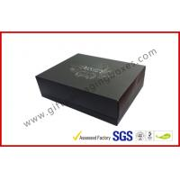 China Rigid Luxury Gift Boxes With Foil Lid And Base Matt Lamination on sale