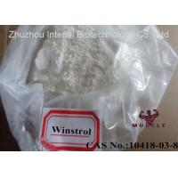 Stanozolol / Winstrol / Winny Powder Cutting Cycle Steroid CAS 10418-03-8 Manufactures
