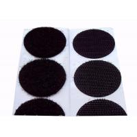 China 25mm Colored Velcro Dots Velcro Backed Patches 80% Nylon 20% Polyester Material wholesale