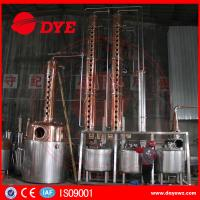 Rum Gin Whiskey Commercial Distilling Equipment Alcohol Pot Still Manufactures