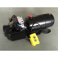 DC 12V 1.6KW  Work Pressure 18Mpa with Round Steel Tank Mini Hydraulic Power Packs for Fork-lifts