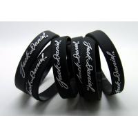 Promotion Gifts Silicone Rubber Parts Personalized Silicone Bracelets Wristbands Manufactures