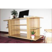 China 3-Tier Wooden Modern Television Stands MDF Melamine Board E1 Degree DX-8894 on sale