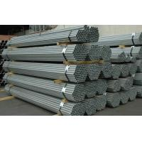 Q215 Round Hot Dipped Galvanized Steel Pipe EN10296 EN10025 For Construction Manufactures