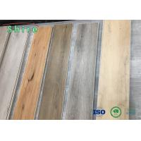 Scratch Resistant Vinyl Spc Flooring Thickness 4-5mm For Indoor Decoration Manufactures