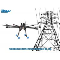 Vertical Take Off And Landing Drone Transmission Line Stringing Tools For Power Line Manufactures