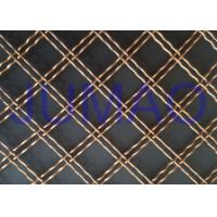 Double Wire Decorative Wire Mesh Cabinet DoorsHigh Transparency Wire Mesh for sale