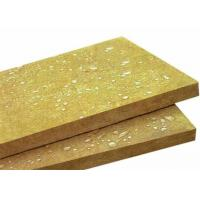 China 100kg/m3 Rockwool Board Insulation / Thermal Sound Insulation FS-0678 on sale