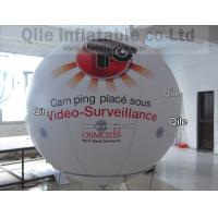 White PVC Advertising Helium Balloon 6M Inflatable For Outdoor Show Event Manufactures
