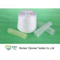 Nature White 100% PSF Polyester Spun Yarn For Weaving / Knitting Low Shrink Manufactures