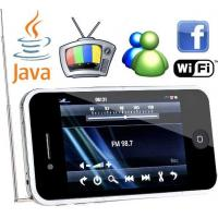 Dual SIM Card Dual Standby, 3.5 Inch Wifi Mobile Phones With TV, Java, Gmail, Google, MSN Manufactures