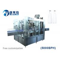 Automatic Auxiliary Equipment Glass Bottled Beer Filling Capping 3 In 1 Machine Manufactures