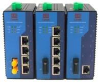 1000M Configurable 5 Port Industrial Ethernet Switch / Wall Mount Ethernet Switch Manufactures