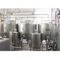 Stainless Steel Mixing Vessels , Fluid Storage Tank ABB Motor For Food Industry Manufactures