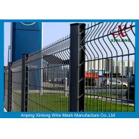 Waterproof Steel PVC Coated Welded Wire Mesh Fence Panels Easily Assembled Manufactures