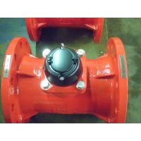 Horizontal Removable Element Hot Water Meter , Woltman Type Water Flow Meter DN200 Manufactures