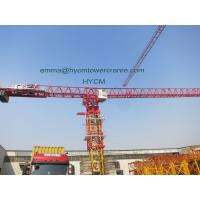 Huge QTP8025 80M Jib Crane Headless Type Of Tower Crane Three Mechanisms Manufactures