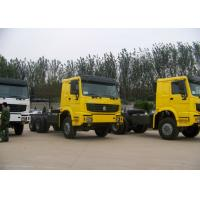 20T - 30T Euro 2 HOWO Automatic Dump Truck Chassis With Middle Lifting System Manufactures