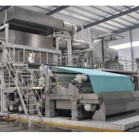 High speed high quality 30ton per day model 2850mm Crescent former tissue making machine Manufactures