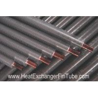 China B111 Cooper & Copper-Alloy Tubes , Solid Extruded Bimetallic Condenser Fin Stock on sale