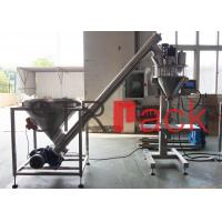 Electric Semi automatic auger powder filling machine for bags , bottles , cans Manufactures