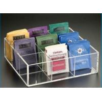China clear crylic divided storage box on sale