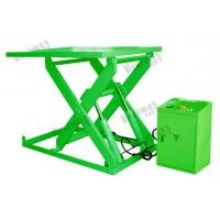 Hydraulic Stationary Scissor Lift 1 Meters 1000Kg Loading Capacity Manufactures