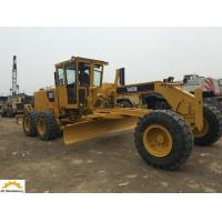 123 Kw Used Caterpillar Motor Grader , 140H Second Hand Grader Low Working Hours Manufactures