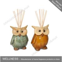 China Cute colorful animal shaped ceramic reed diffuser for home decoration on sale