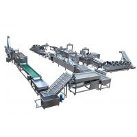 China Automatic Snack Food Processing Equipment French Fries / Potato Chips Production Line on sale