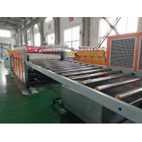 Double Screw WPC Foam Board Machine 380V / 420V 1220mm Width For Rigid Sheet Manufactures