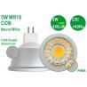 Buy cheap Energy Saving Aluminium 5W 450LM CRI80 Bright G5.3 MR16 Natural White COB Spotlight from wholesalers