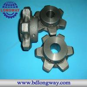China Transmission parts sprocket ductile iron sand casting on sale