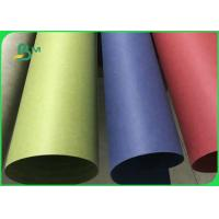 China Biodegradable & Waterproof Multicoloured Washable Kraft Paper Roll For Handbags on sale