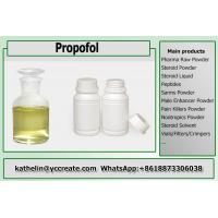 China Light Yellow Liquid Local Anesthetic Injection Anesthesia Propofol For General Anesthesia CAS 2078-54-8 on sale