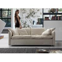 China Gray Soft Modern Fabric Sofas With Solid Wood & Stainless Steel Sofa Frame on sale