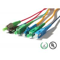 Buy cheap Fiber Optic Patch Cord In SC / LC / FC / ST Connectors from wholesalers