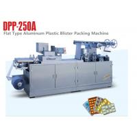 China Servo Motor Alu Plastic Automatic Blister Packing Machine Tablet Blister Machine on sale