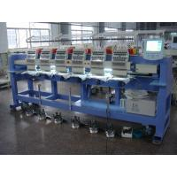 China Low Noise Six Heads Cap Embroidery Machine , Embroidery Hat Machine / Equipment Sunwing Ct1506 on sale