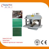 Two Linear Blades V - Cut PCB Separator To Cutting Rigid And Thick Metal Circuit Board Manufactures