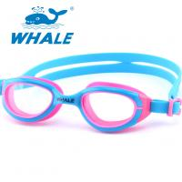 Novelty Watertight Kids Swim Goggles Clear Vision For Girls Water Sports Competition Manufactures
