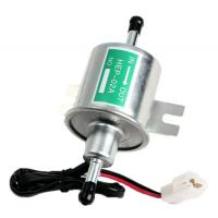 Quality Universal 12V Heavy Duty Electric Fuel Pump Metal Intank Solid Petrol HEP-02A for sale