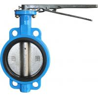 PN10/16 Pneumatic Butterfly Valve Conditioning And Fire Prevention Use Manufactures